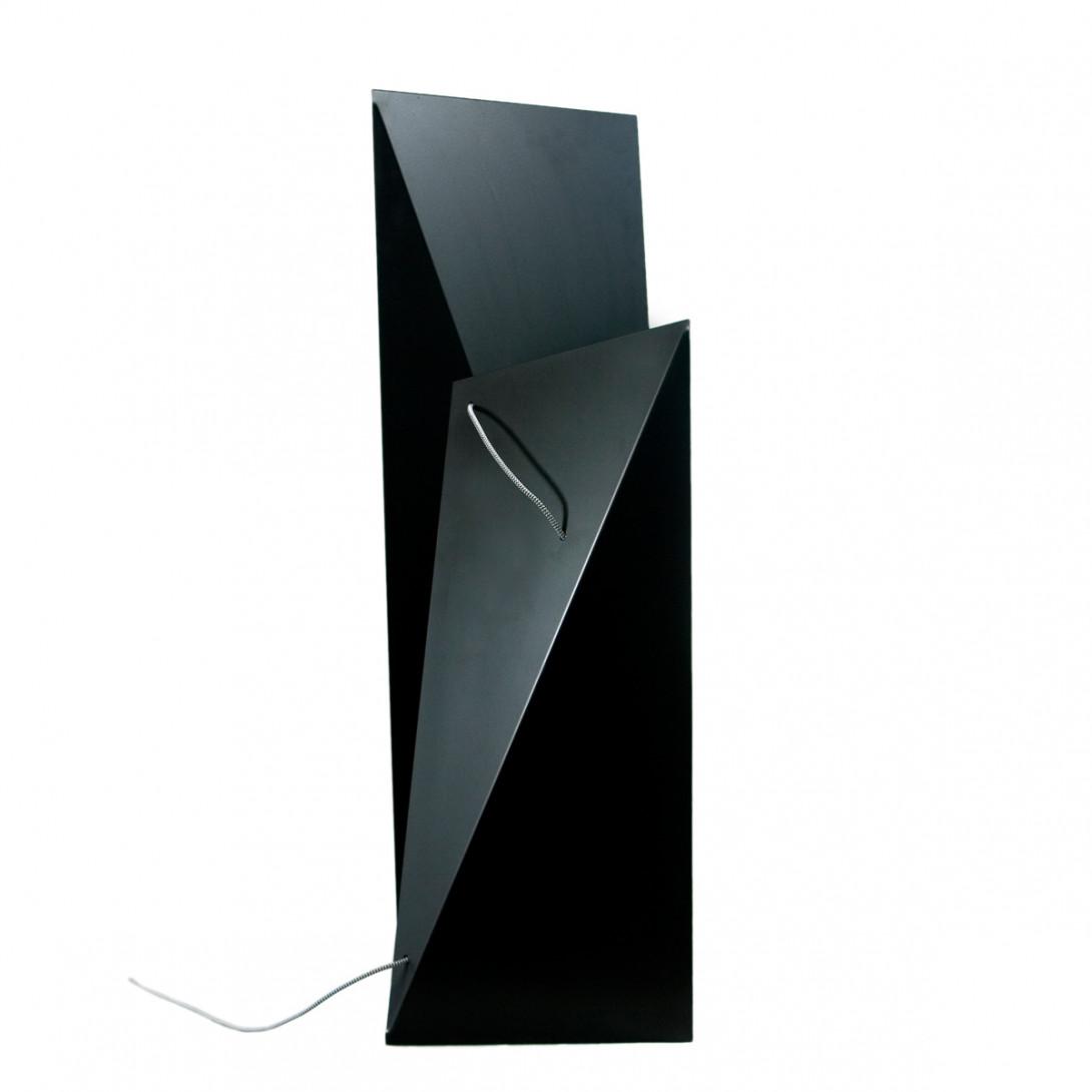 Steel floor lamp TOWER BIG black LGH0360
