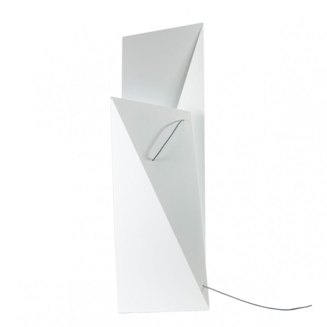 Lampa podłogowa stalowa TOWER BIG biała LGH0361 - gie el