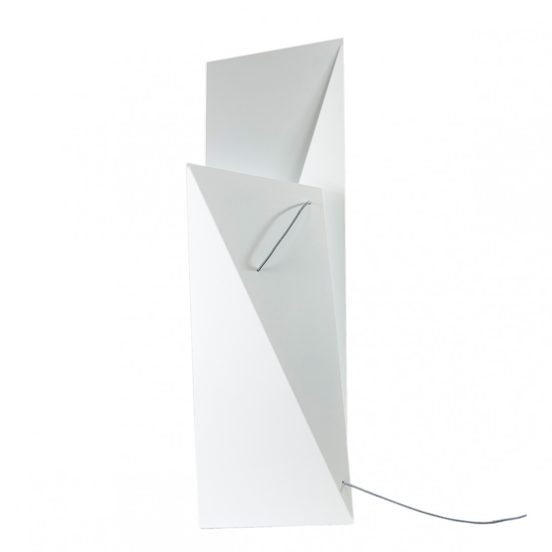 Steel floor lamp TOWER BIG white LGH0361