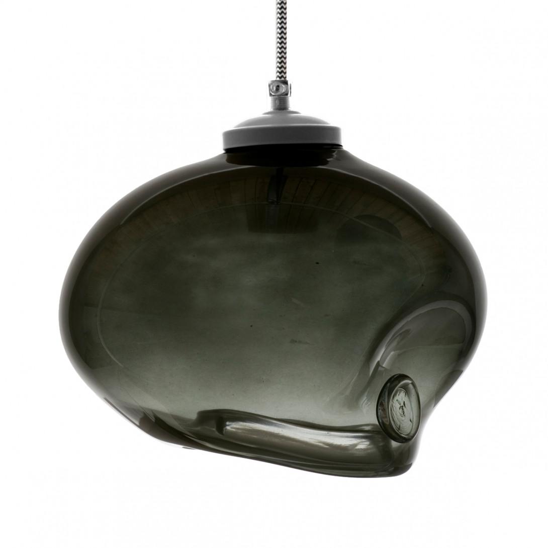 Glass pendant lamp MEDUSE moon dust LGH0253