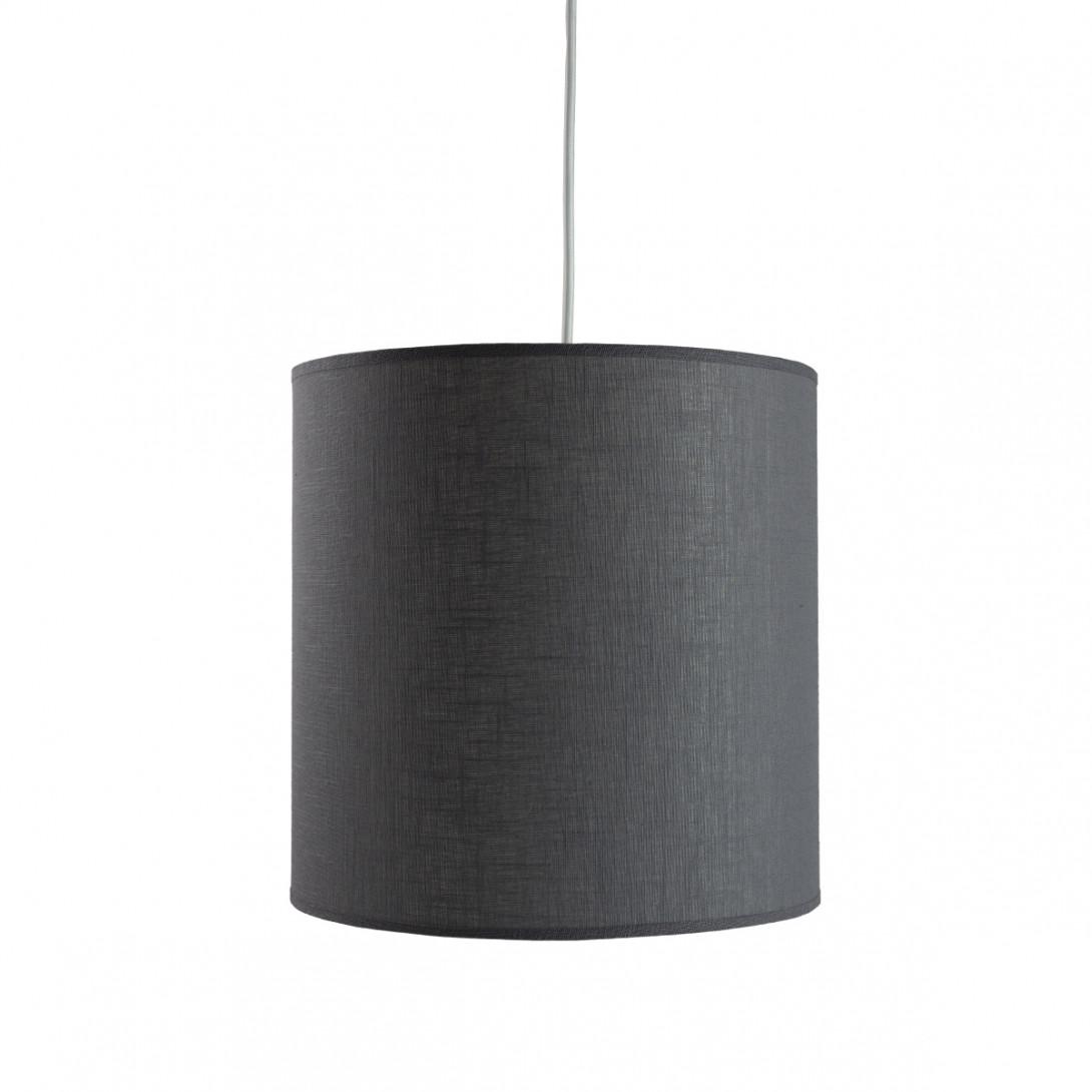 Lampa wisząca tekstylna PIANO I szara LGH0502 - gie el