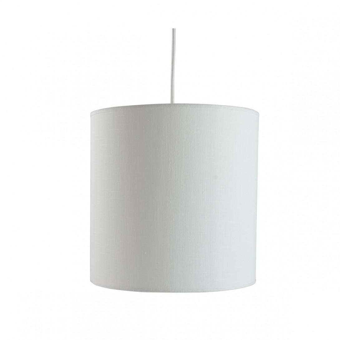 Lampa wisząca tekstylna PIANO I biała LGH0503 - gie el