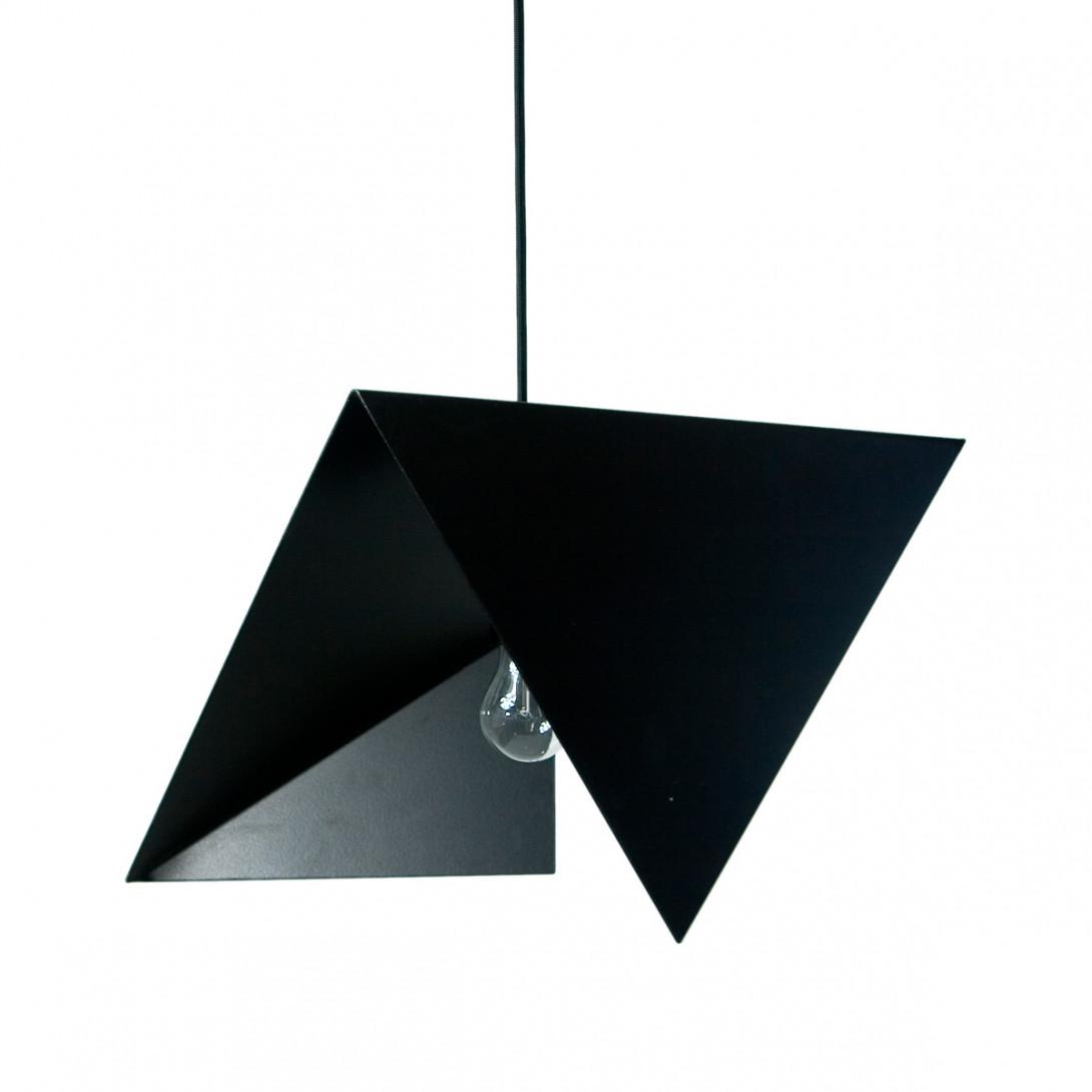 Lampa wisząca stalowa BIRD II czarna LGH0310