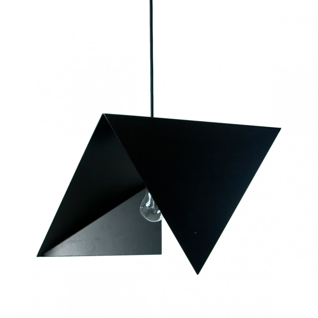 Steel pendant lamp BIRD II LGH0310 black