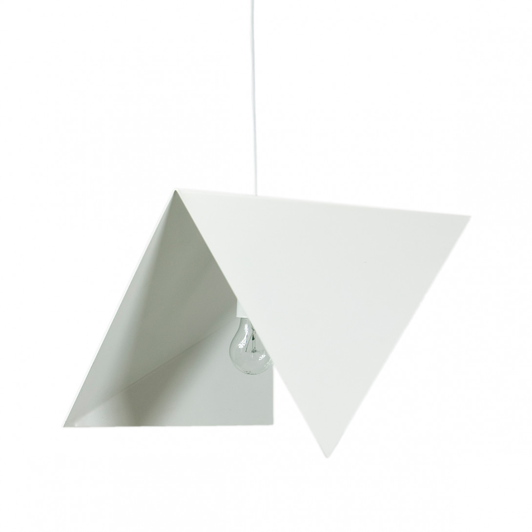 Steel pendant lamp BIRD II LGH0311 white