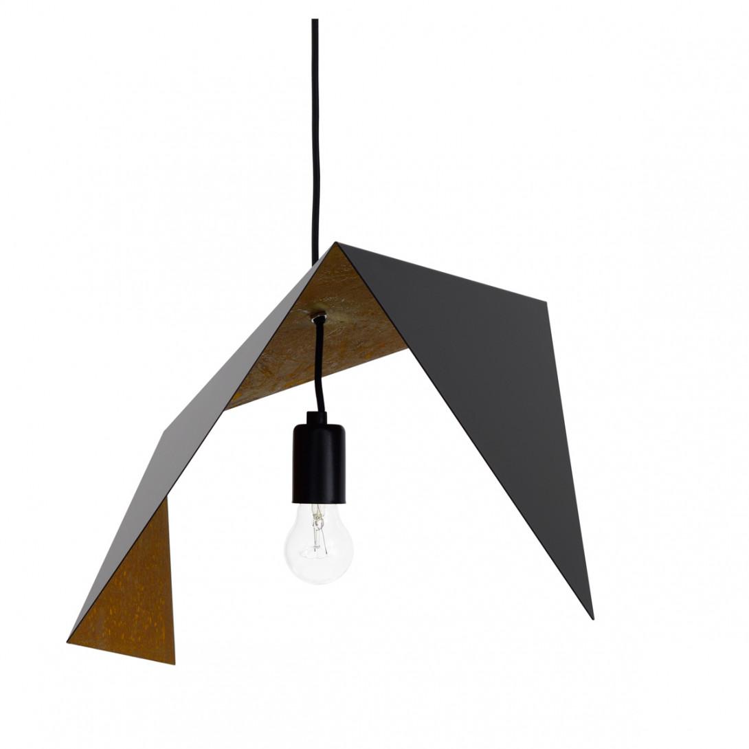 Pendant lamp DUO BIRD II black-rusty LGH0641 - gie el