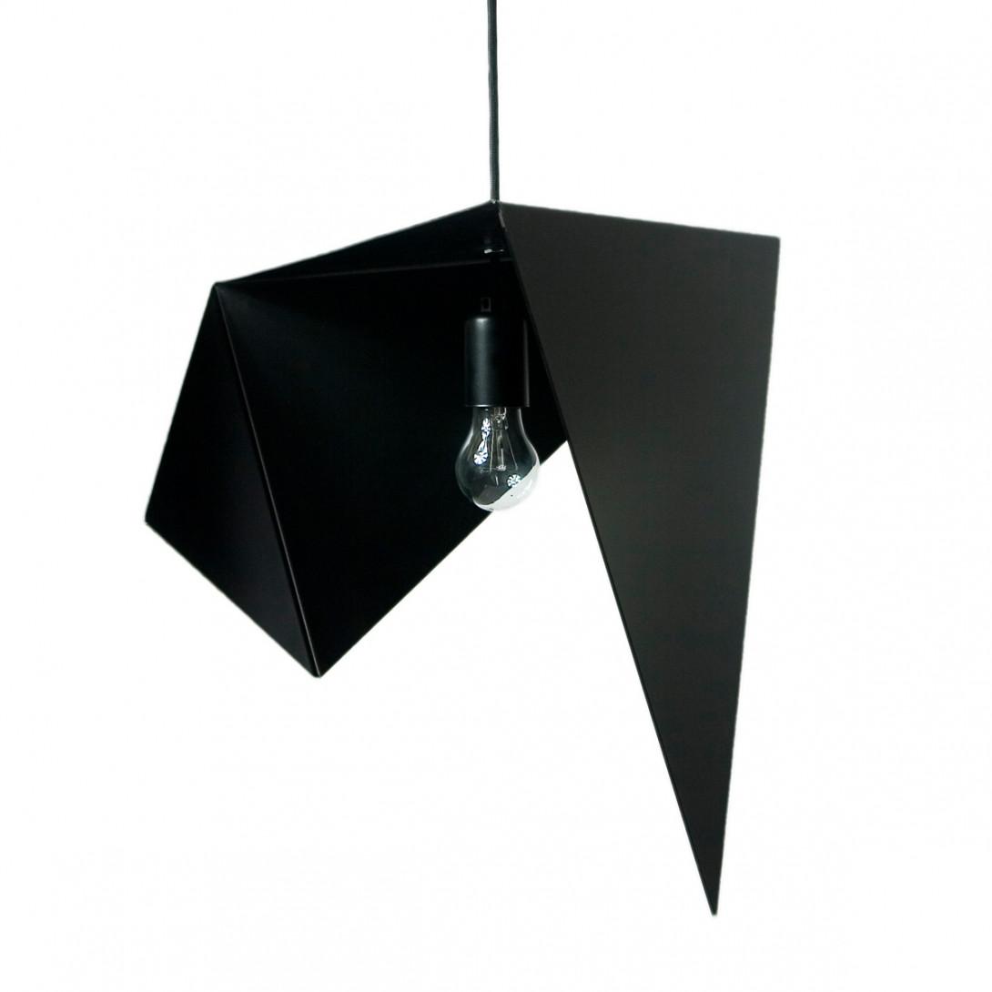 Lampa wisząca stalowa BIRD I czarna LGH0320