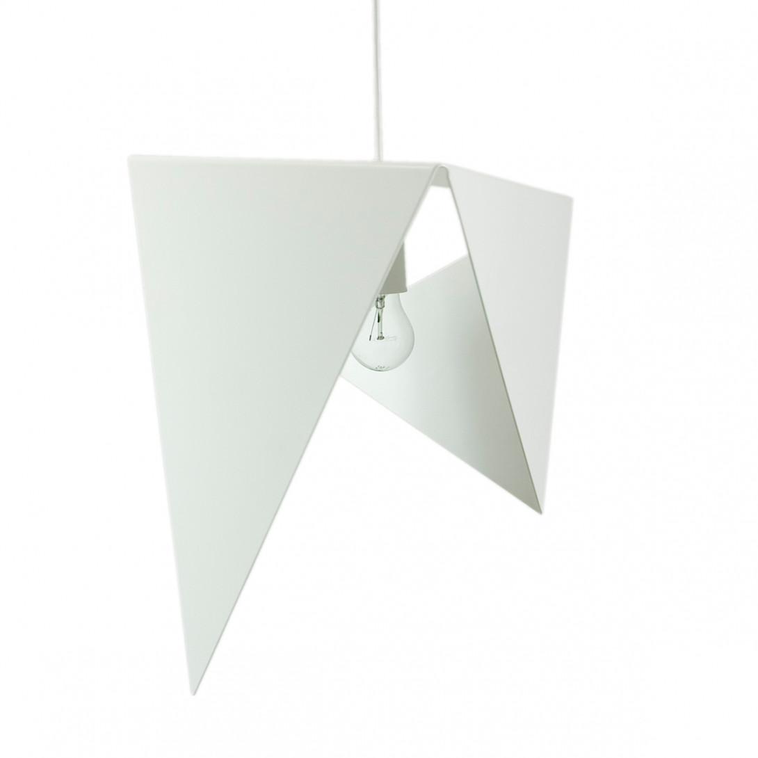 Steel pendant lamp BIRD I LGH0321 white - gie el