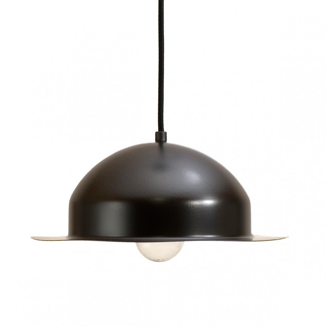 Steel pendant lamp BLACK HAT LGH0143