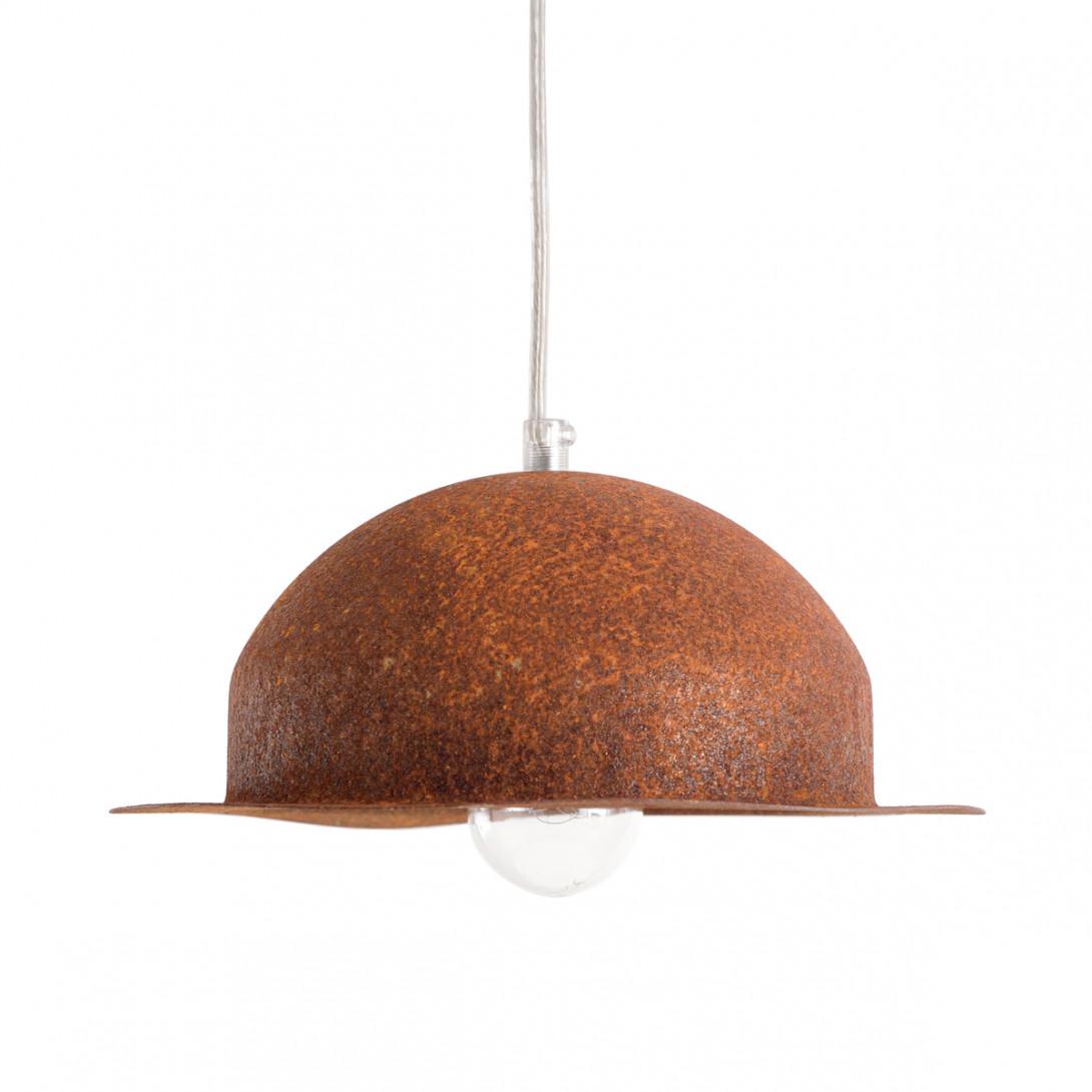 Pendant lamp HAT rust LGH0145 - gie el
