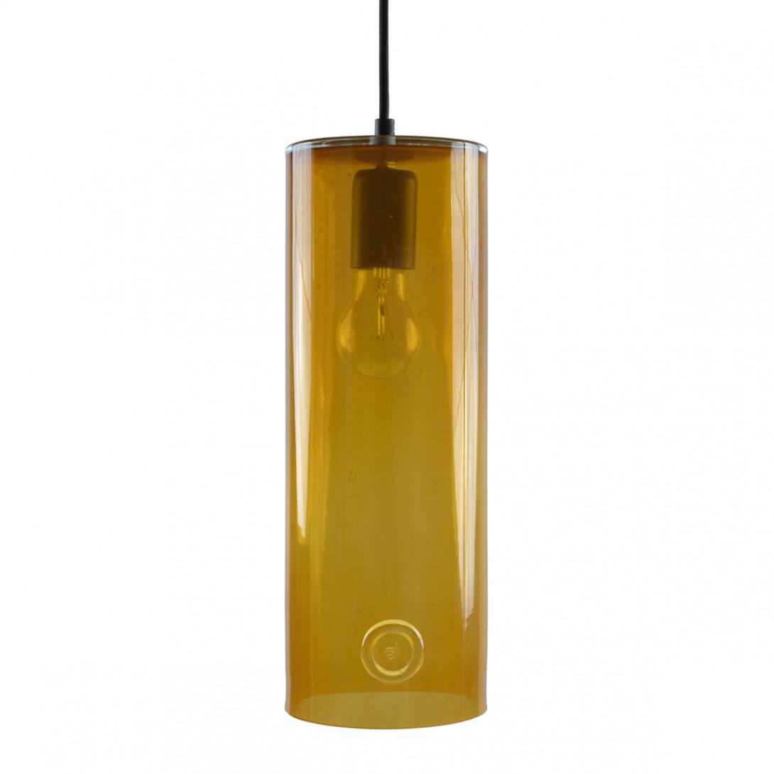 Lampa wisząca szklana NEO III miodowa LGH0400