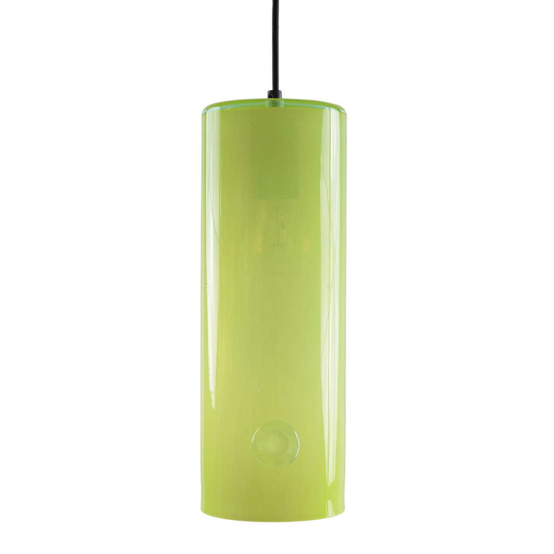 Glass pendant lamp NEO III LGH0401 neon yellow