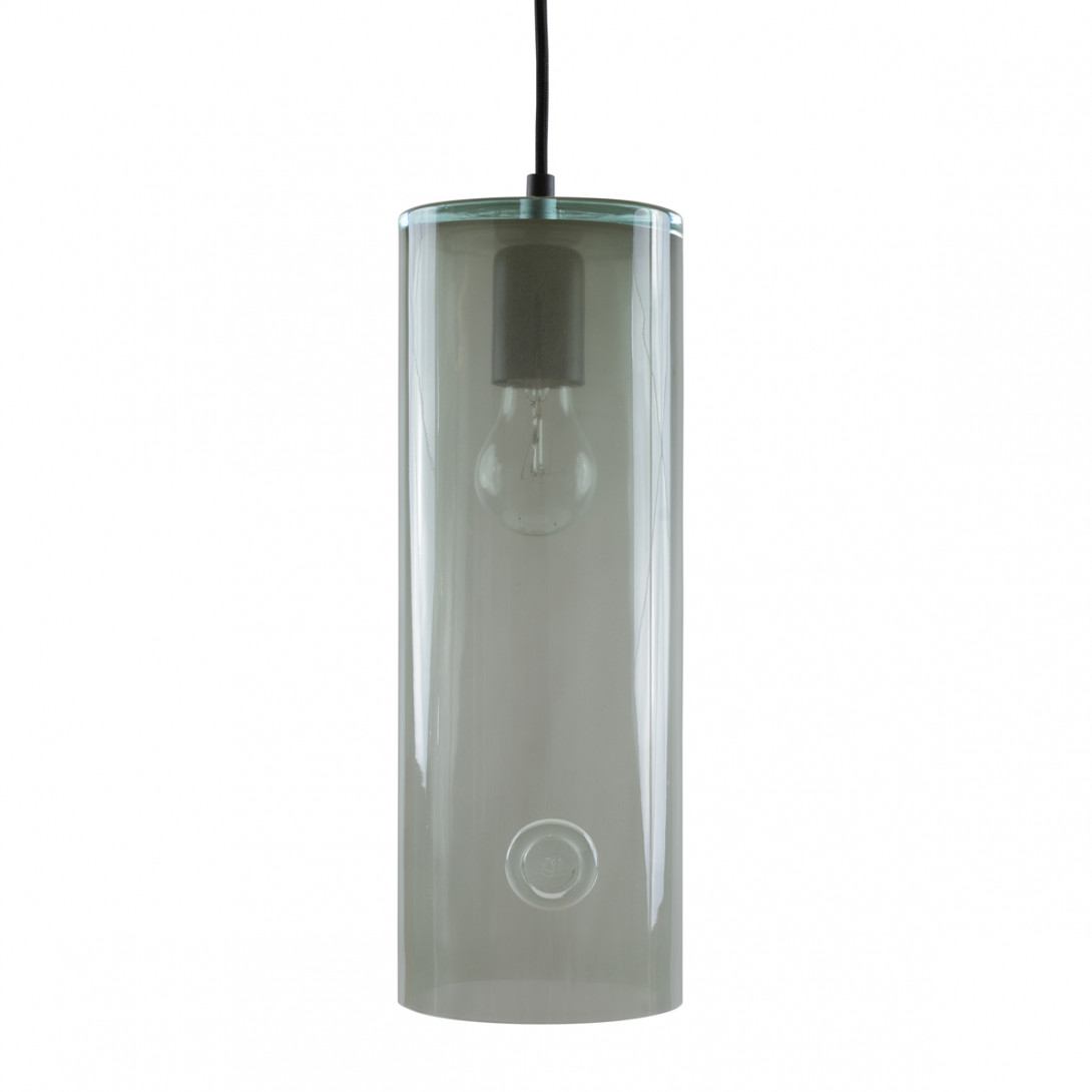 Glass pendant lamp NEO III LGH0403 gray