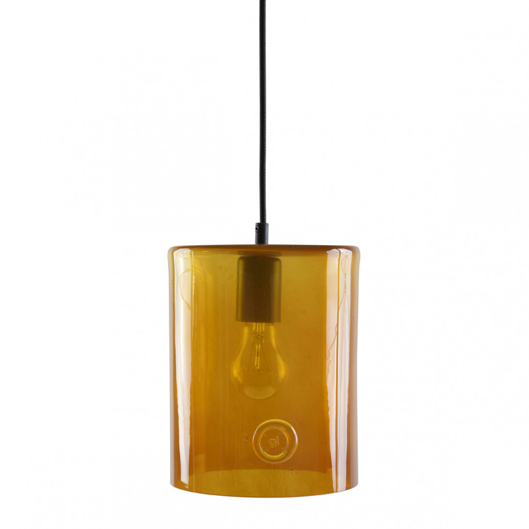 Glass pendant lamp NEO II LGH0410 honey - gie el