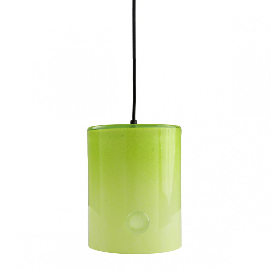 Lampa wisząca szklana NEO II limonkowa LGH0411 - gie el