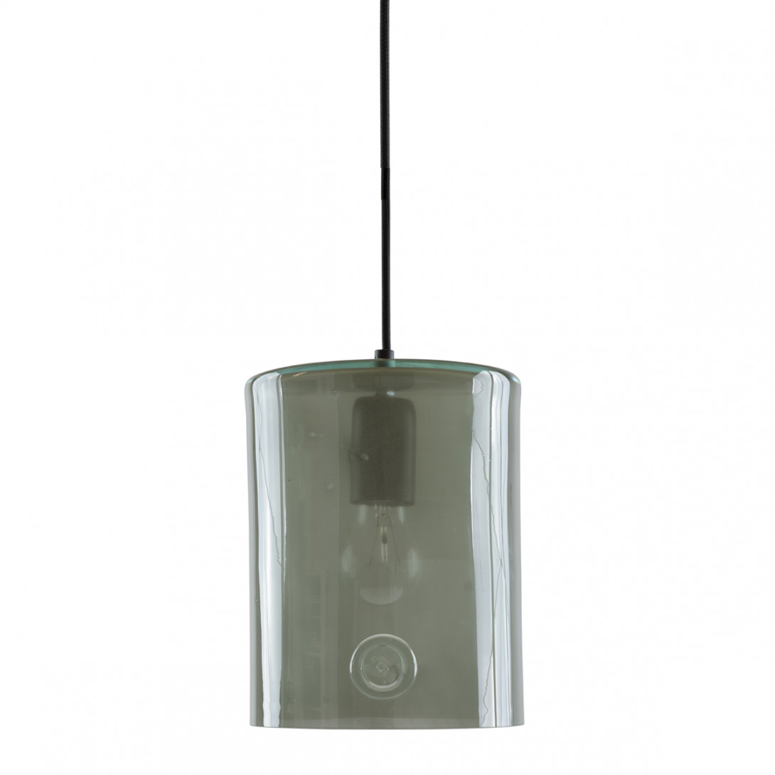 Glass pendant lamp NEO II LGH0413 gray - gie el