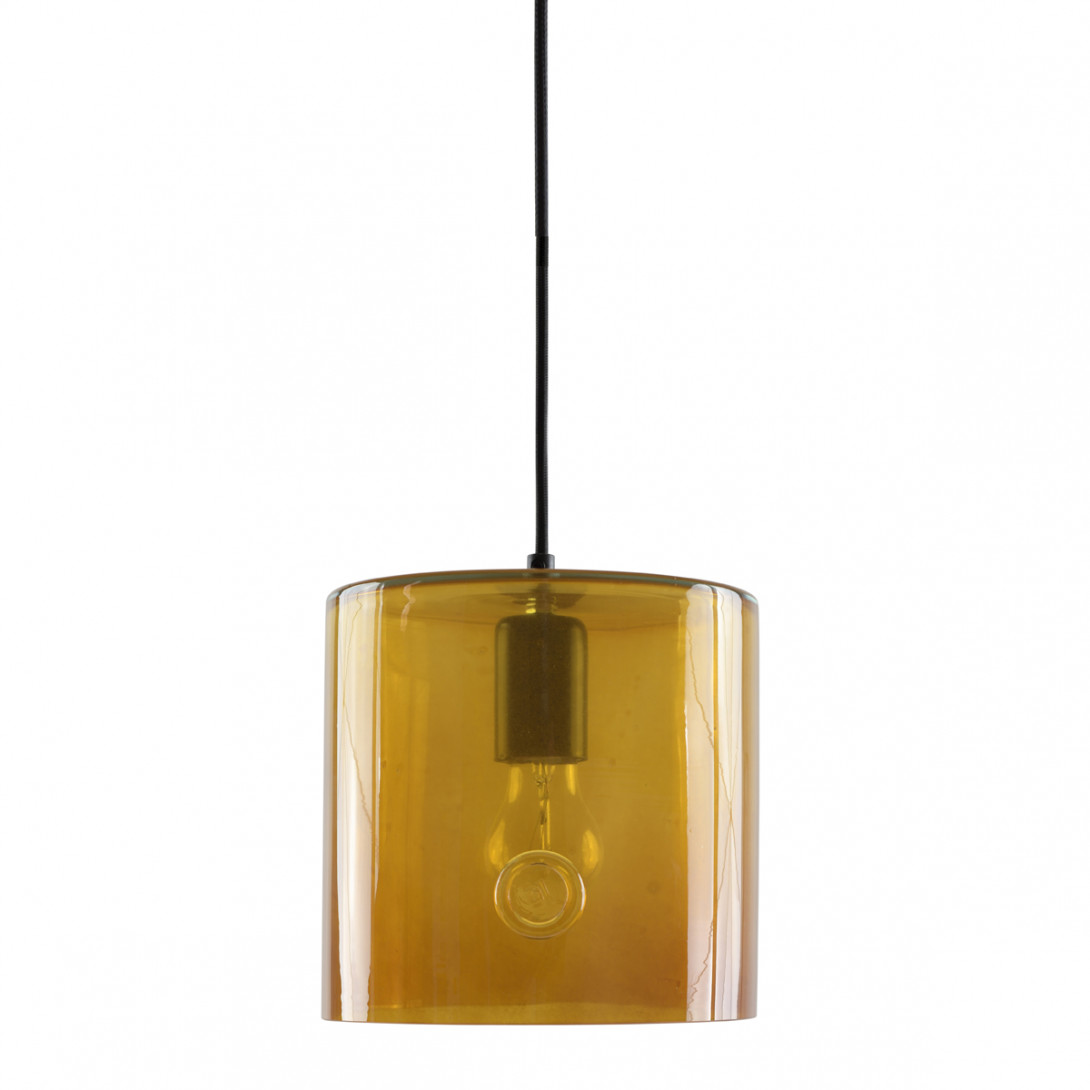 Glass pendant lamp NEO I honey LGH0420 - gie el