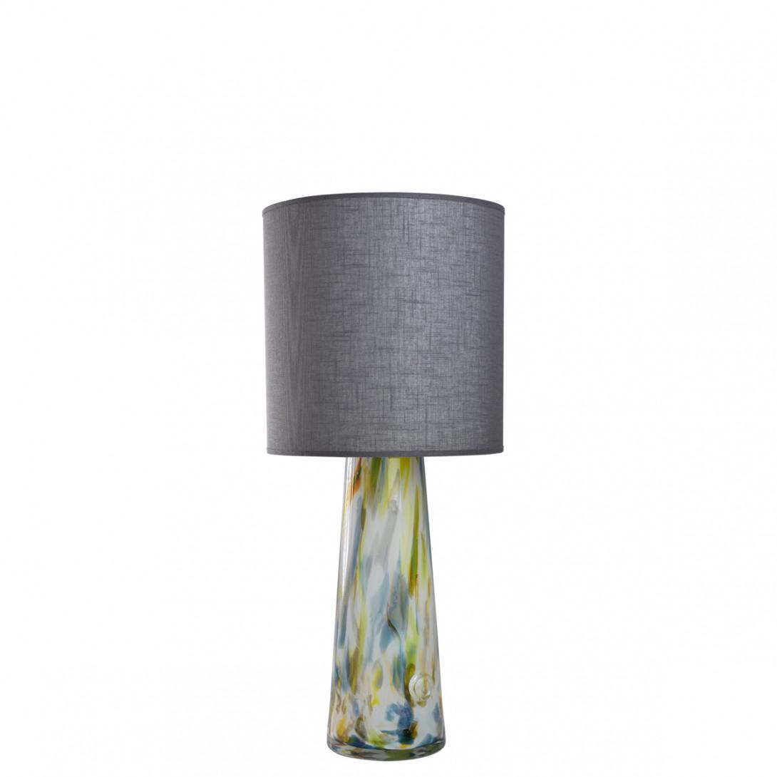 Lampa stołowa szklana z abażurem VOLCANO I LGH0582 - gie el