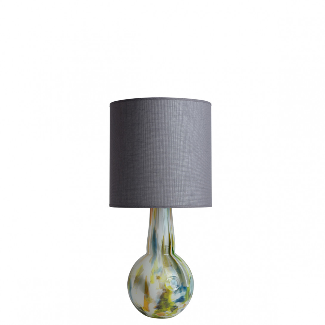 Glass table lamp with lampshade GALAXY I LGH0586