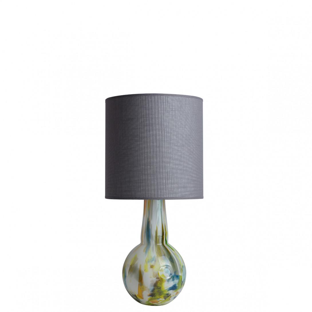 Lampa stołowa szklana z abażurem GALAXY I LGH0586