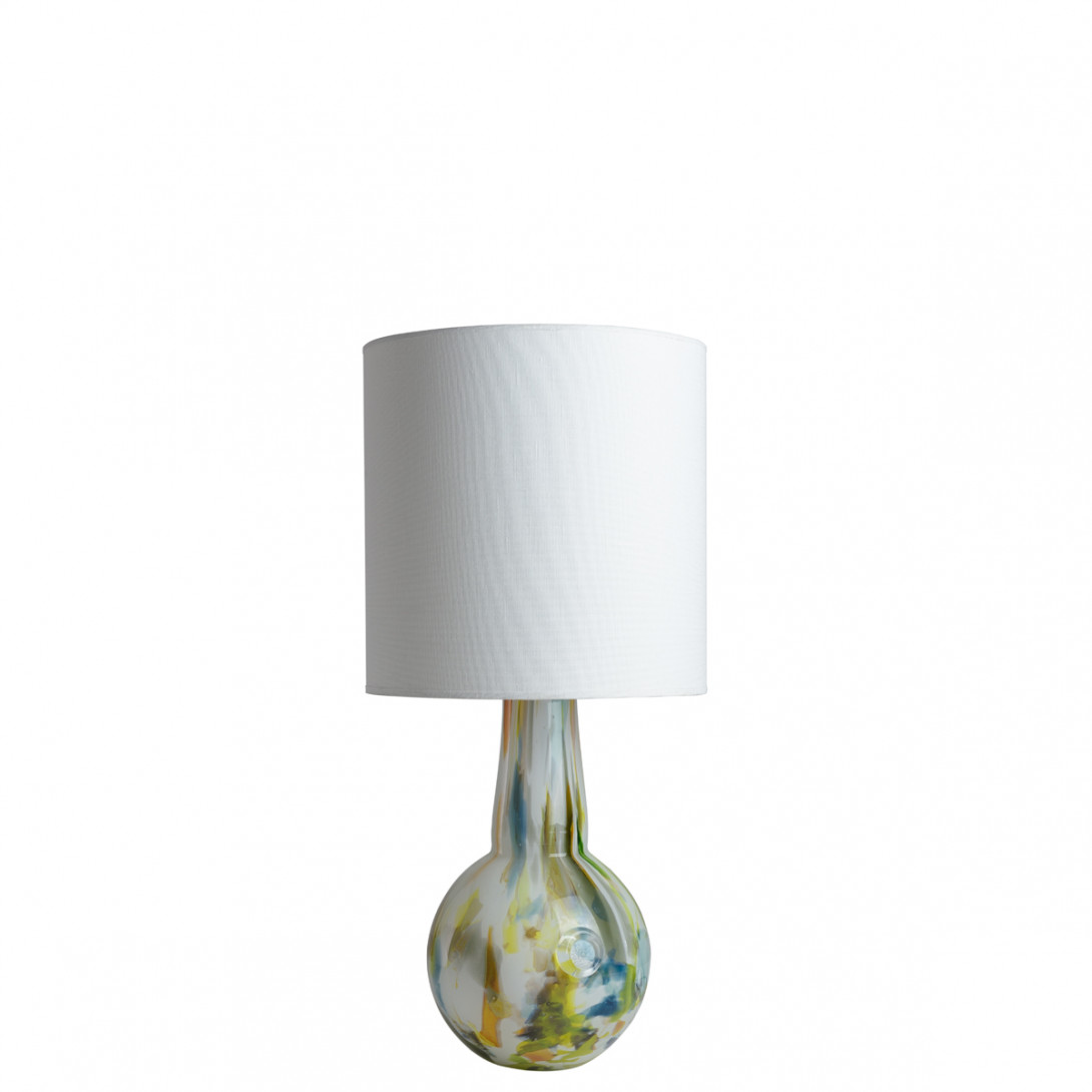 Glass table lamp with lampshade GALAXY I LGH0587 - gie el
