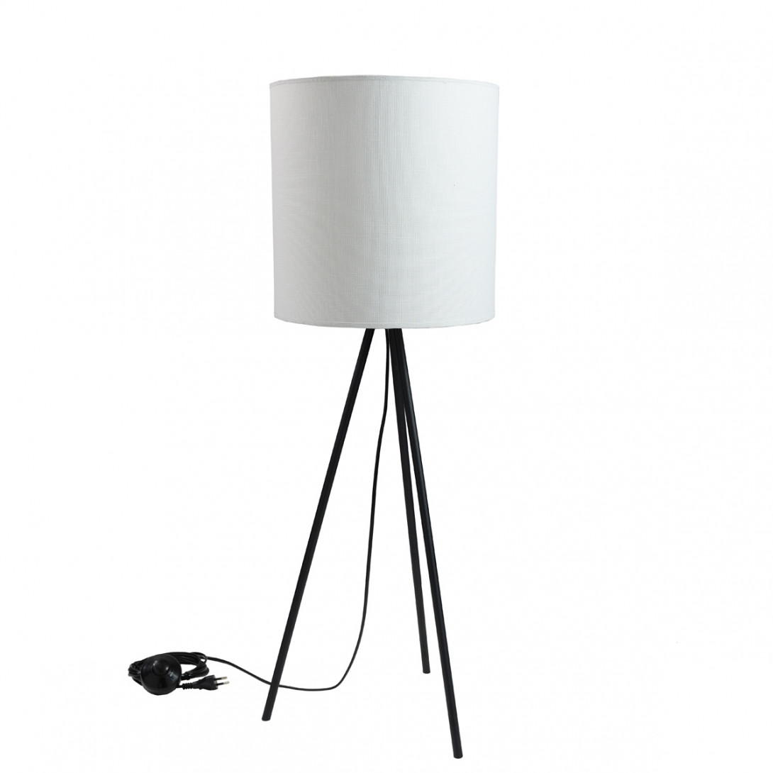 Lampa stołowa TRINITY II biała LGH0513 - gie el