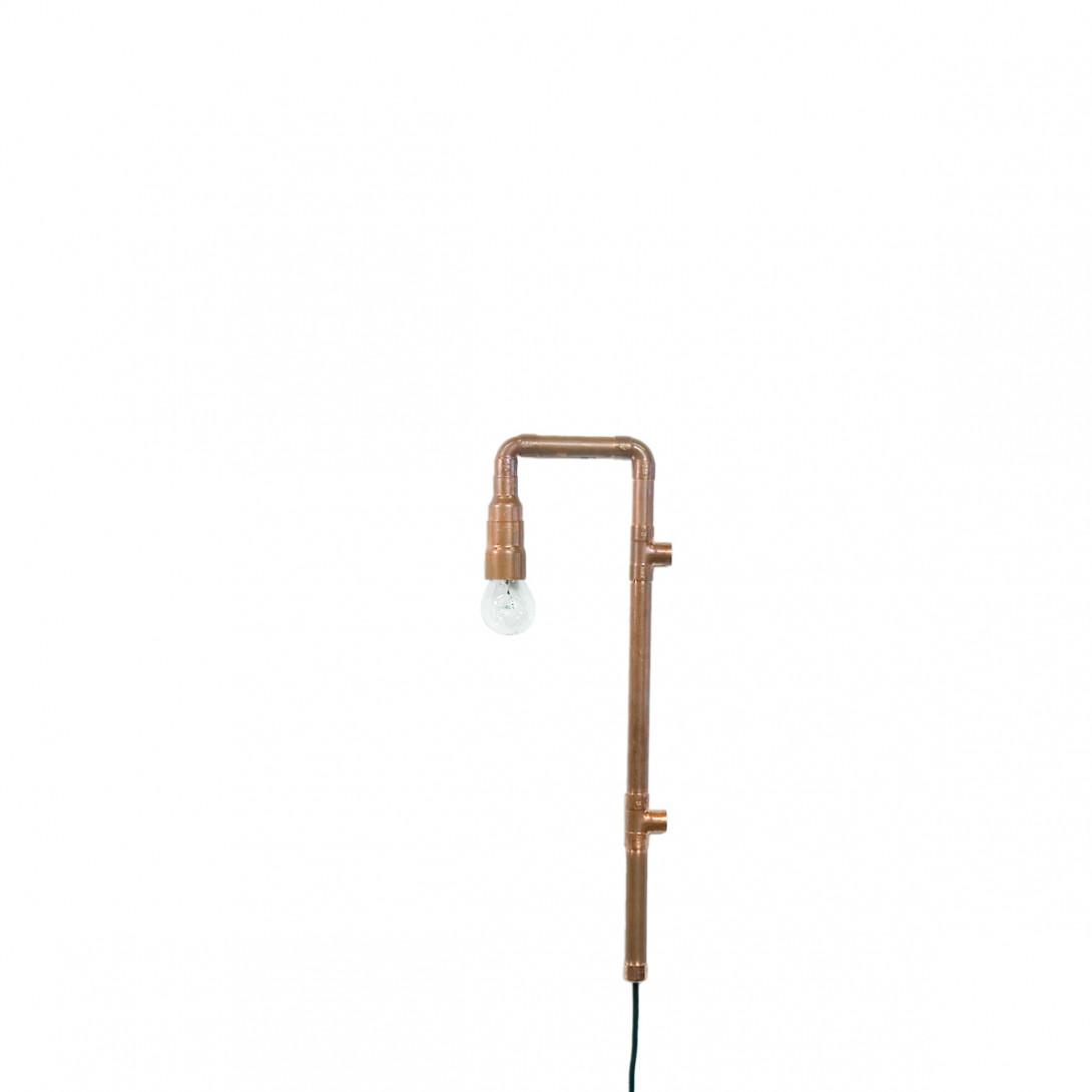 Lampa ścienna miedziana z rurek WAND LGH0270