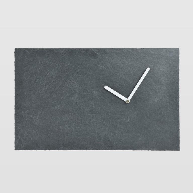 Zegar ścienny STONE z białymi wskazówkami ACL0041 - Gie El