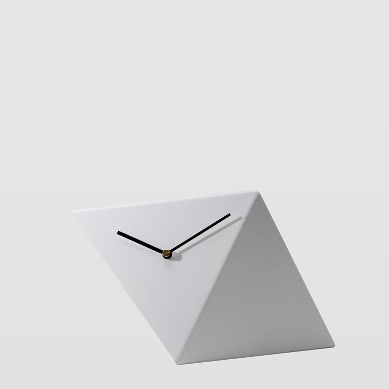 Zegar biurkowy BIRD biały ACL0011 - Gie El