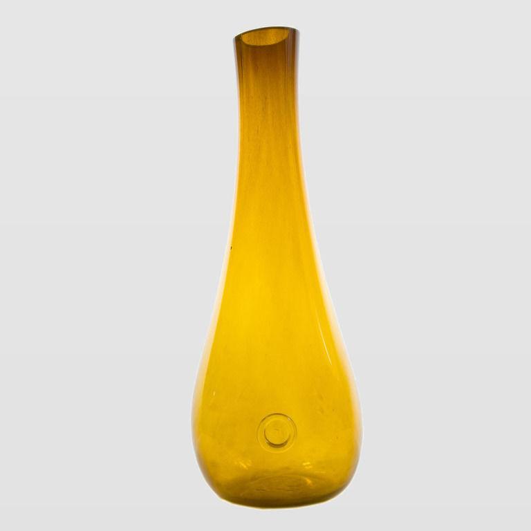 Szklany wazon STALACTITE miodowy AGL0110 - Gie El