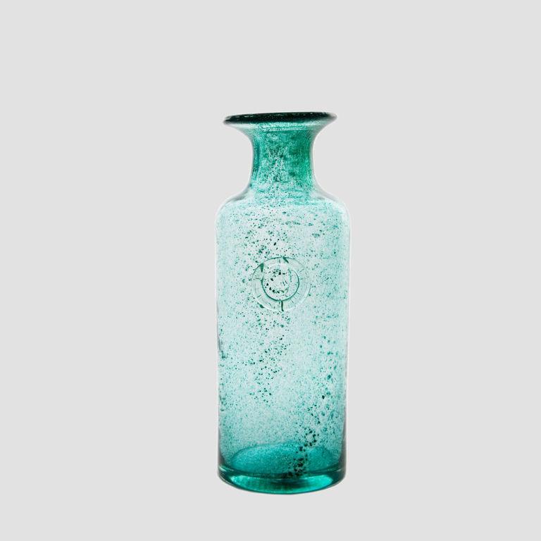 Szklana karafka COLLAR turkusowa AGL0121 - Gie El
