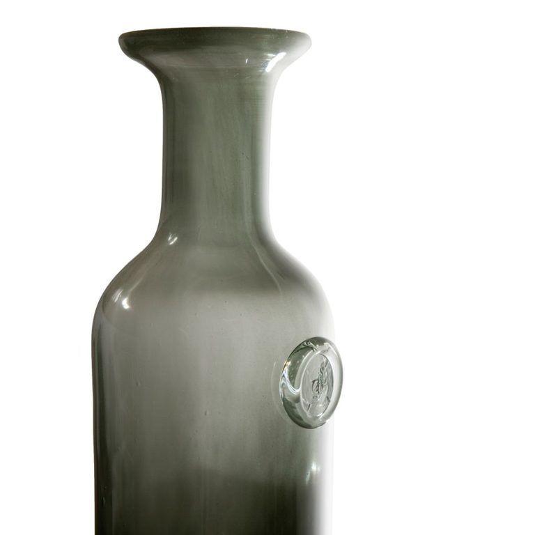Szklana karafka COLLAR szara AGL0123 - Gie El