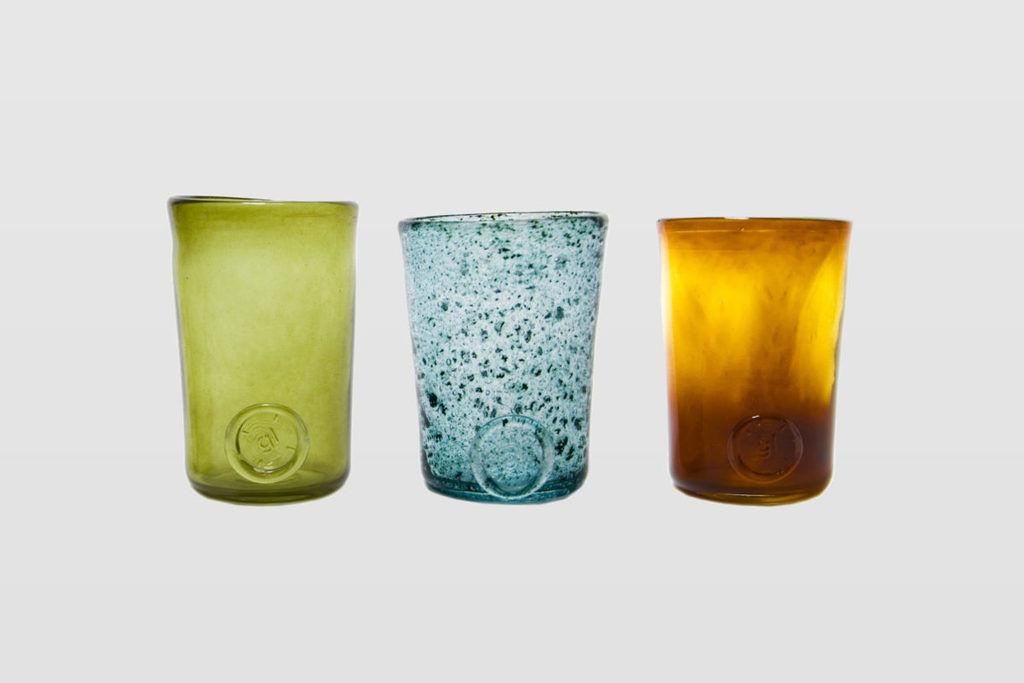 Zestaw 3 szklanek oliwkowych TRIO AGL0132 - Gie El