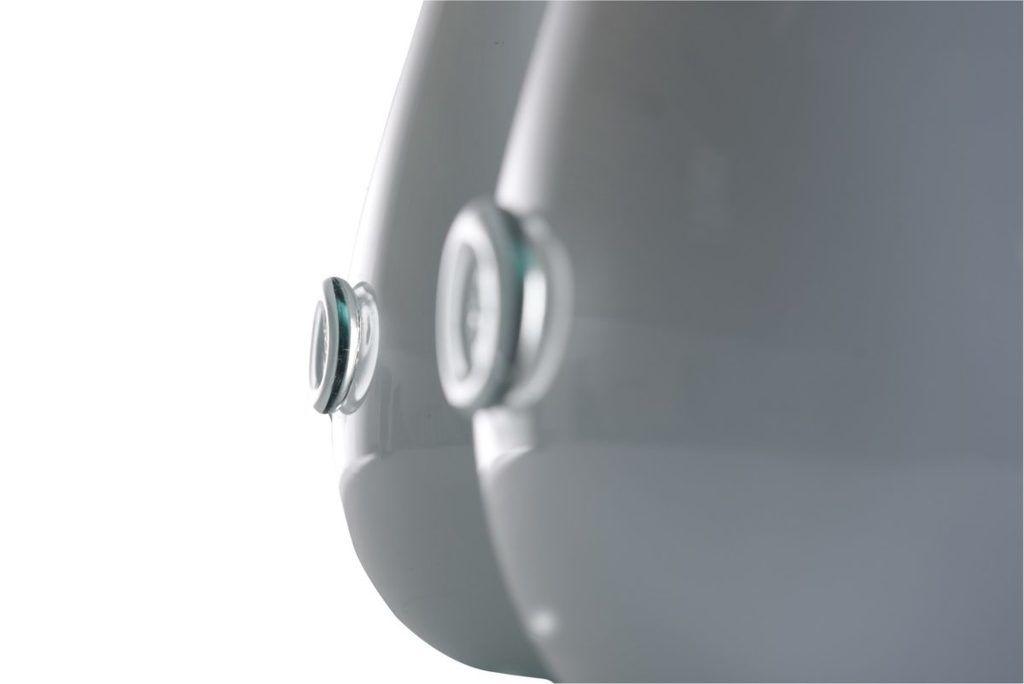 Wazon szklany SWAN średni biały AGL0154 - Gie El