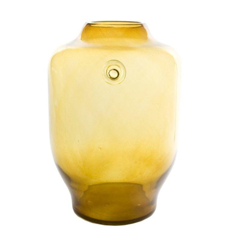 Wazon szklany BEE miodowy AGL0170 - Gie El