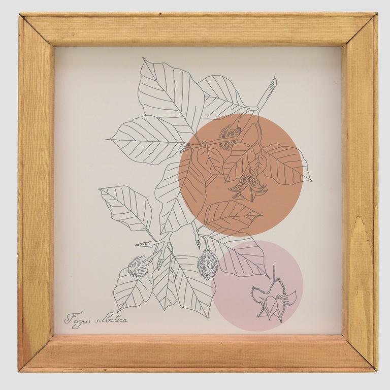 Beech leaves drawing APC0063
