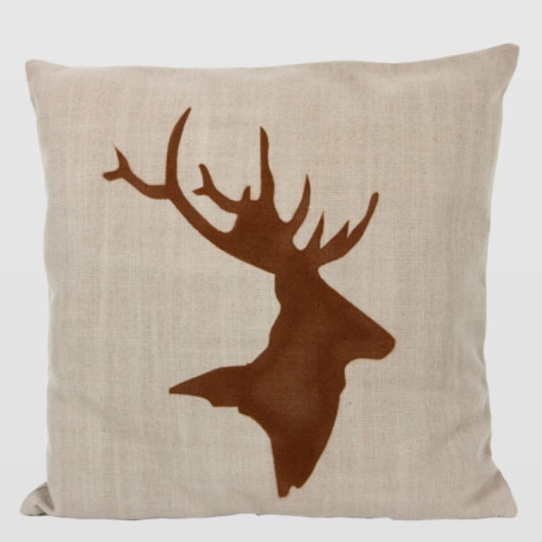cushion with deer APL0050