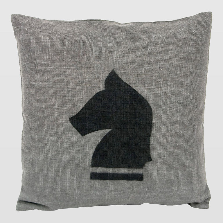 cushion with horse APL0070