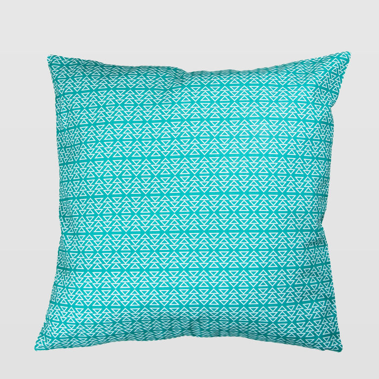 turquoise cushion APL0120