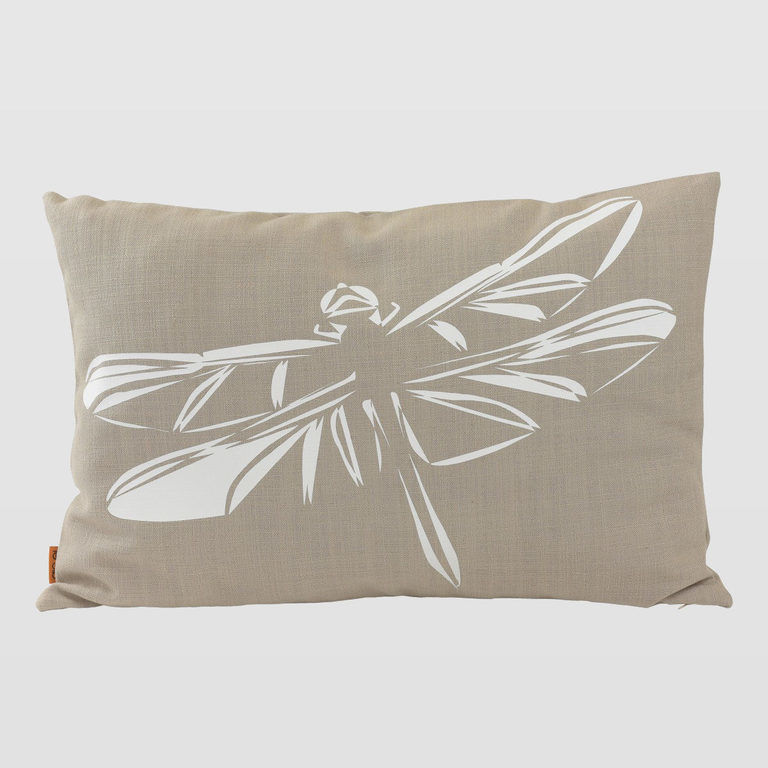 Cushion with dragonfly APL0140