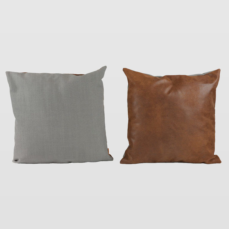 Double-colored cushion APL0161
