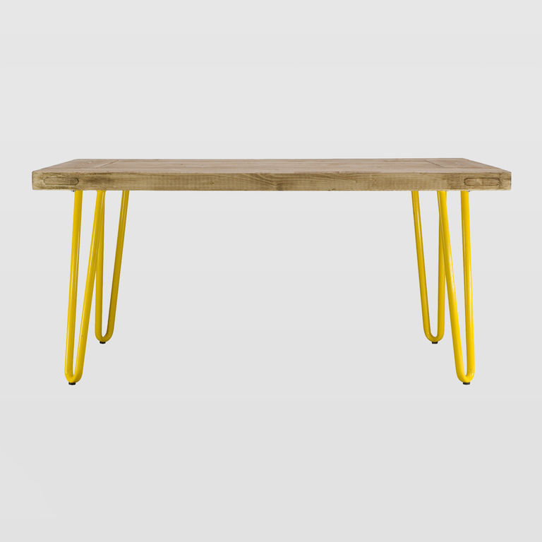 Rectangular wooden coffee table FCT0011