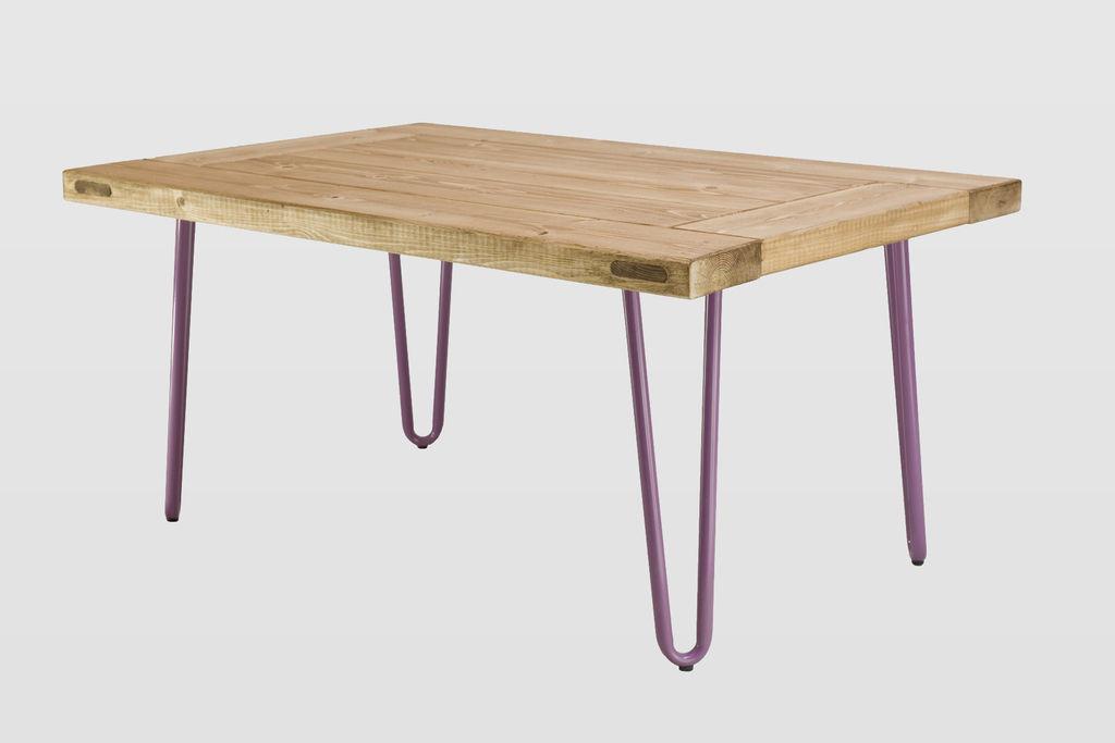 Coffee Table Village Door Natural Wood Fct0013 Designerskie I