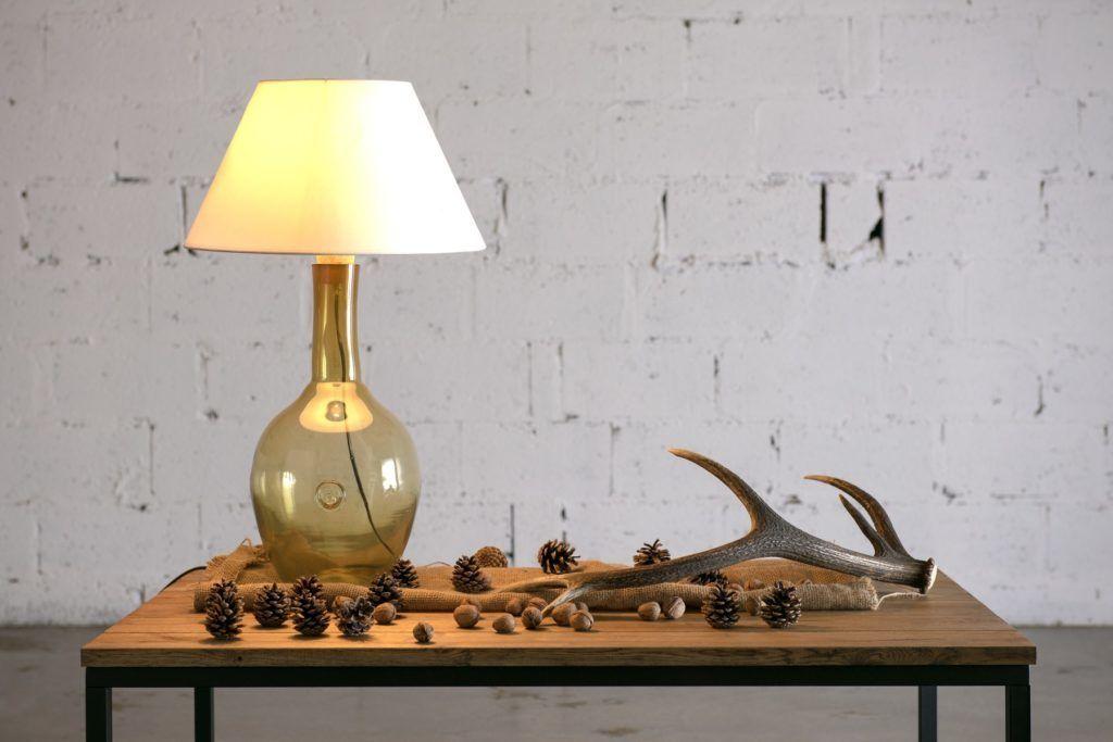 Stolik kawowy dębowy na czarnej ramie FRAMED FCT0050 - Gie El