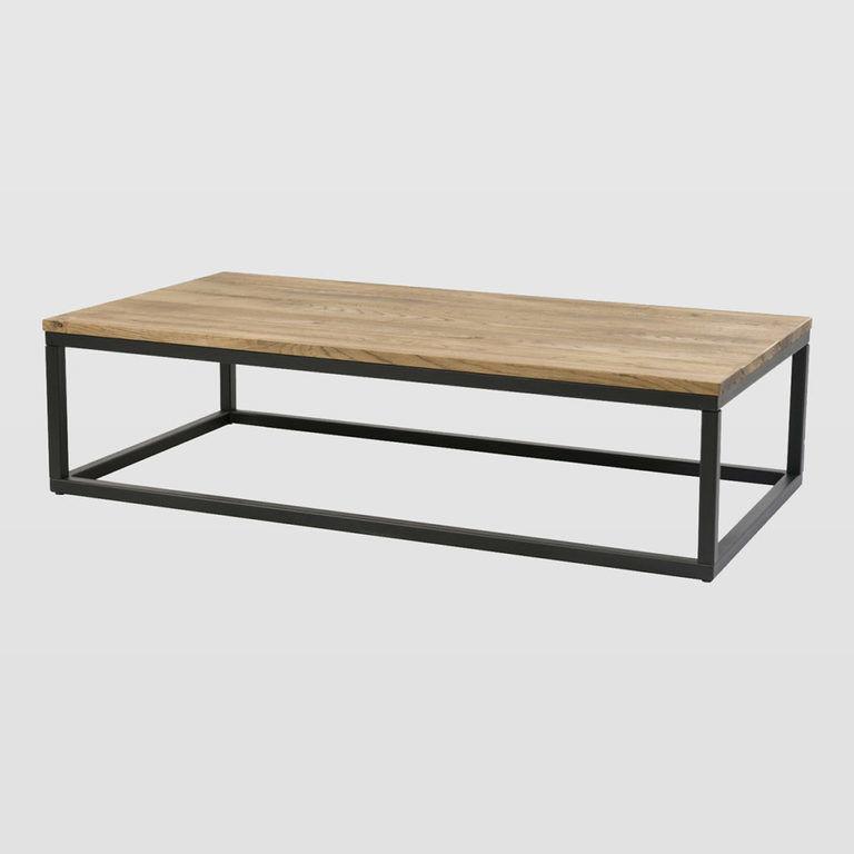 Stolik kawowy drewniany FRAMED niski FCT0053 - Gie El
