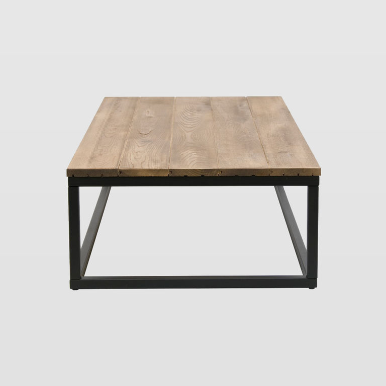 Low Coffee Table Framed Fct0053 Wooden Top Designerskie I