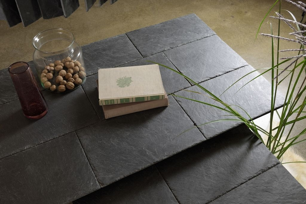 slate tabletop of coffe table FCT0274