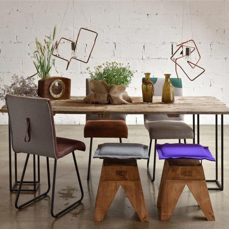 Gie El krzesła do jadalni krzesło DUO FST0221 chair design Poland