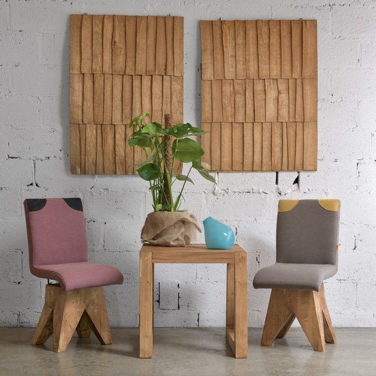 Gie El krzesła do jadalni krzesło na bazie PATCHY FST0270 chair on wooden base design