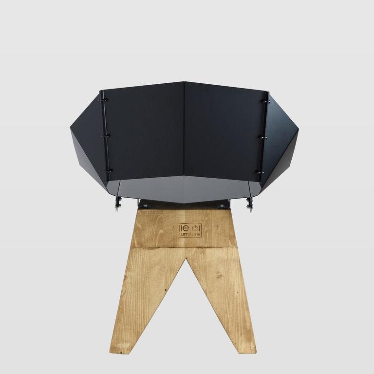 black chair FST0310